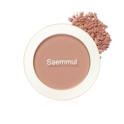 Румяна The Saem Saemmul Single Blusher PK07 Breeze Muhly