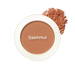 Румяна The Saem Saemmul Single Blusher OR05 Brick Orange