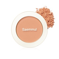 Румяна The Saem Saemmul Single Blusher CR06 Desert Peach