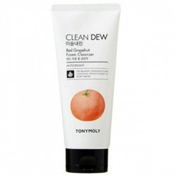 Пенка для умывания TonyMoly Clean Dew Red Grapefruit Foam Cleanser, 180 мл.